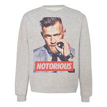 The Notorious Poster Herren Men's Damen Women's Unisex Sweatshirt Extra Large