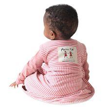 Merino Kids Baby Sleep Bag, Schlafsack für Babys 0-2 Jahren, Himbeere