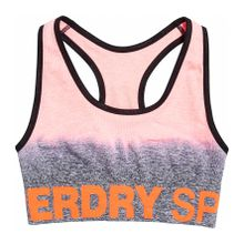 Superdry - Sport Seamless Ombre Women Sport BH orange L