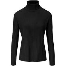 Rollkragen-Pullover aus 100% Kaschmir Peter Hahn Cashmere schwarz
