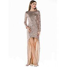 Missord Damen Kleid Gold gold Medium