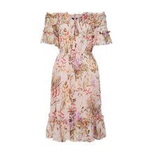 ONLY Kleid 'onlROSE OFFSHOULDER SHORT DRESS WVN' mischfarben / rosa