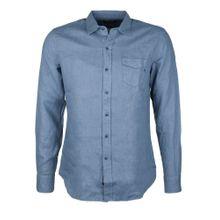 REPLAY Hemd blau