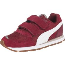 PUMA Sneaker 'Vista V Ps' rot / weiß