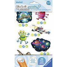 Ravensburger tiptoi® CREATE Sticker Weltall