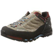 Salewa Damen WS MTN Trainer Gore-Tex Trekking-& Wanderhalbschuhe, Braun (Funghi/Indio 7511), 37 EU