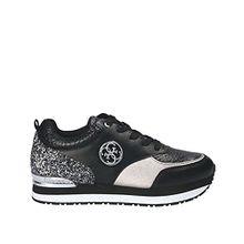 Guess Damen Sneaker Schwarz; Sonstige Kombinationen Größe 39 Schwarz (Schwarz)