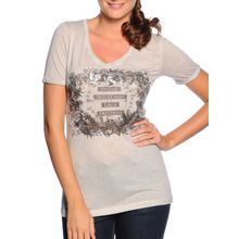 Sienna T-Shirt in grau für Damen