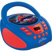 Spider-Man CD-Player mit Radio (Neues Design) blau/rot