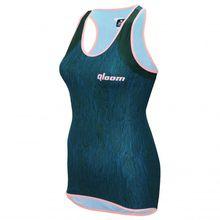 Qloom - Sarina Tank Top - Tank Top Gr L;M;S;XL;XS blau/schwarz;rot/rosa