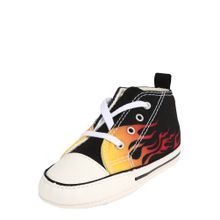 CONVERSE Schuhe 'FIRST STAR' orange / schwarz