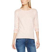 ESPRIT Damen Pullover 997EE1I801, Rosa (Pink 5 674), 44 (Herstellergröße: XXL)