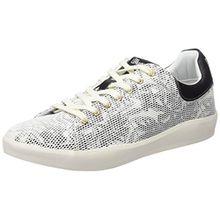 Wrangler Wave Low Flower, Damen Sneakers, Weiß (307 White/Tropical), 37 EU