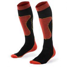 Mons Royale - Pro Lite Tech Sock - Multifunktionssocken Gr L;S schwarz/rot;schwarz/grau