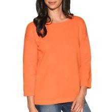 Benetton Pullover in orange für Damen