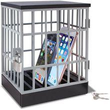 Handy-Gefängnis grau