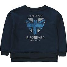 Sweatshirt LORETO mit Wendepailletten  blau Mädchen Kinder