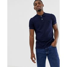 United Colors Of Benetton - Muskel-Polohemd in Marine - Navy