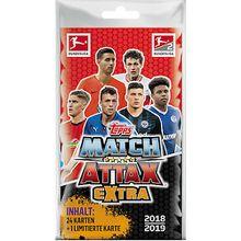 Match Attax EXTRA Blister mit 25 Karten  2018/2019