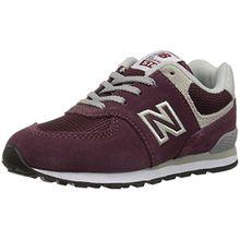 New Balance Unisex-Kinder Gc574v1g Sneaker, Rot (Burgundy), 39 EU