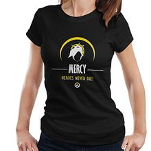 Mercy Heroes Never Die Overwatch Women's T-Shirt
