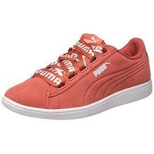 Puma Damen Vikky Ribbon Bold Sneaker, Rot (Spiced Coral-Spiced Coral), 37.5 EU