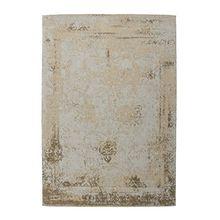 Vintage Teppich Nostalgia 285 Sand 160cm x 230cm 50% Baumwolle, 50% Polyester Chenille Handgewebt