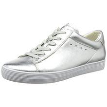 Gabor Shoes Damen Comfort Sneakers, Silber (Silber 10), 42 EU