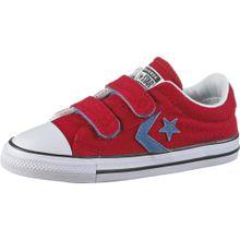CONVERSE Sneaker rauchblau / rot / weiß