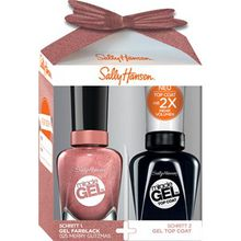 Sally Hansen Nagellack Miracle Gel Miracle Gel Nagellack 14,7 ml + Miracle Gel Top Coat 14,7 ml Nr. 025 Merry Glitzmas 1 Stk.
