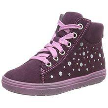 Richter Kinderschuhe ILVA, Mädchen Hohe Sneakers, Violett (Eggplant 7600), 25 EU