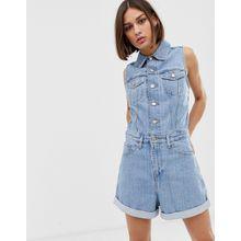 Levi's - Marian - Kurzer Jeans-Jumpsuit - Blau