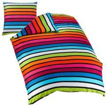 Kleine Wolke 6109148954 Bettwäsche Rimini, 155 x 220 cm, Farbe Multicolor