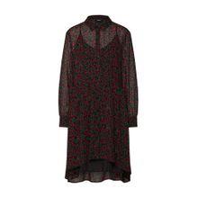 OBJECT Kleid 'KIMBRIELLA' rot / schwarz