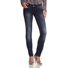 Mustang Damen Skinny Jeans Gina, Gr. W25/L30, Blau (dark scratched used 582)