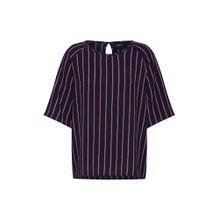 OBJECT Shirt 'LEONIE' dunkelblau / rot