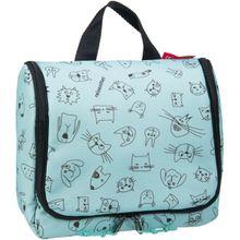reisenthel Kulturbeutel / Beauty Case kids toiletbag Cats and Dogs Mint (3 Liter)
