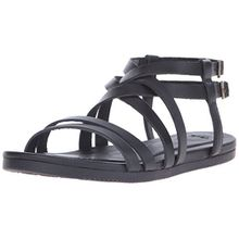 Teva Avalina Crossover Leather W's Damen Sport- & Outdoor Sandalen, Schwarz (Black 513), EU 40