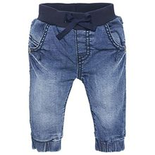 Noppies Unisex - Baby Jeans U Comfort, Einfarbig, Gr. 74, Blau (Stone Wash C295)