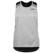 ADIDAS PERFORMANCE High Neck Racerback Trainingstank grau