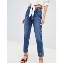 MiH Jeans - Mimi - Mom-Jeans mit hohem Bund - Blau