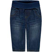 Steiff Jeans mit Umschlagbund - washed-out Look