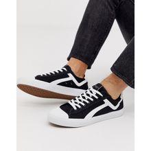 Selected Homme - Stoff-Sneaker - Schwarz