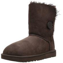 Ugg Australia Womens Bailey Button ll Brown Sheepskin Boots 37 EU