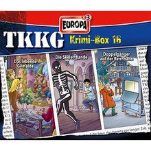 CD TKKG - Krimibox 16 (Folgen 171, 173, 174) Hörbuch