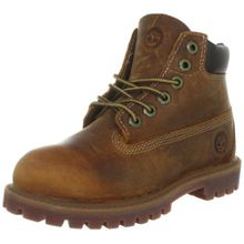 Timberland Authentics FTK 6 In WP Boot 80904, Unisex-Kinder Stiefel, Braun (Medium Brown Rust), EU 40 (US 7)