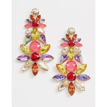 Aldo – Auffällige Ohrringe mit Kristalldesign-Mehrfarbig
