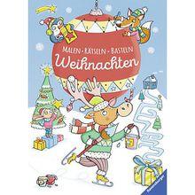 Buch - Malen: Rätseln: Basteln: Weihnachten