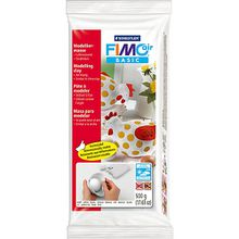 FIMO air basic Lufttrocknende Modelliermasse weiß, 500 g