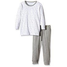 NAME IT Baby-Mädchen Zweiteiliger Schlafanzug NITNIGHTSET M G NOOS, Gr. 92, Mehrfarbig (Bright White)